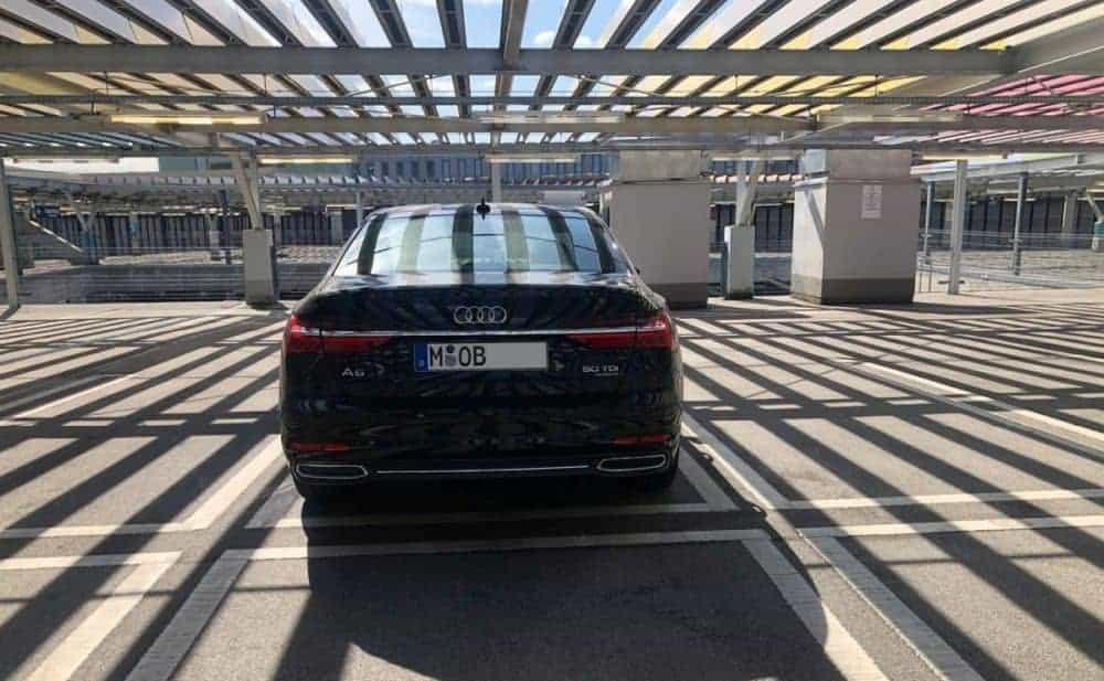 Audi A6 50 TDI quattro Heck