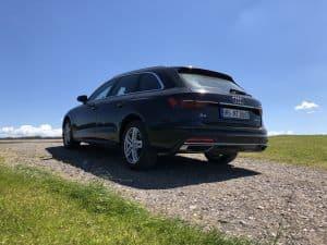 Europcar Audi A4 Heckansicht