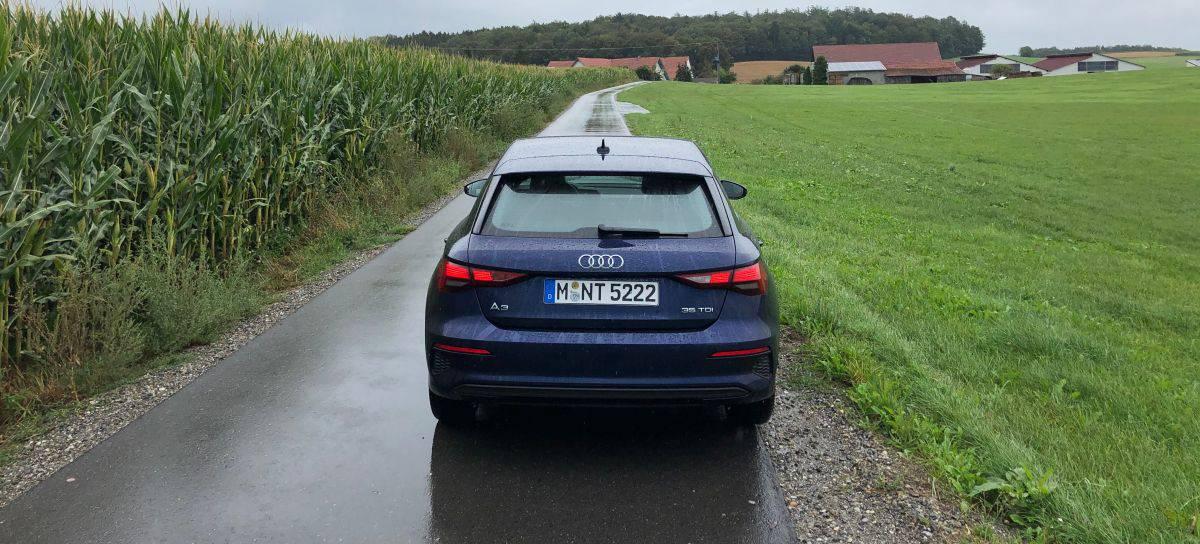 Audi A3 Heckansicht