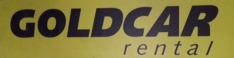 Logo der Autovermietung Goldcar Rent a Car