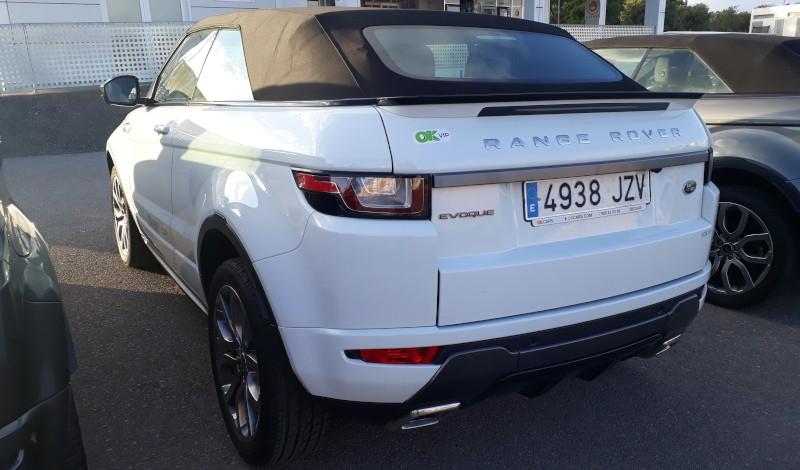 Range Rover Evoque bei OK Rent a Car Mallorca