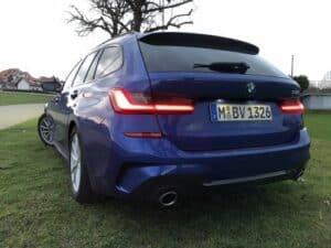 BMW 3er Touring Heckansicht
