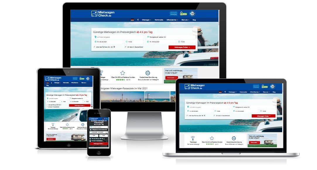 Mietwagen-Check.de Webseite