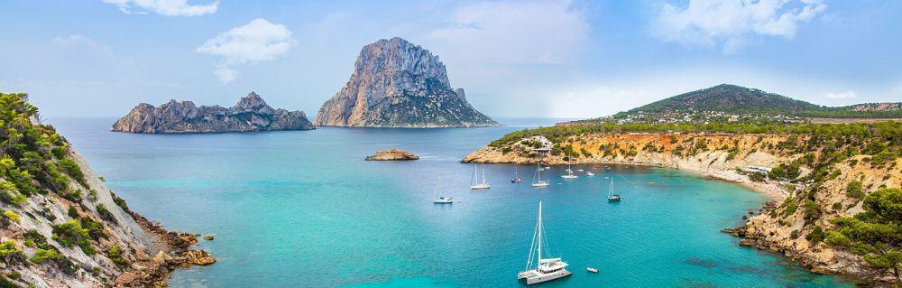Küste von Ibiza